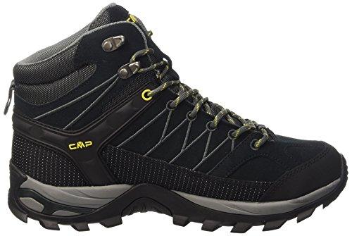 CMP - F.lli Campagnolo Rigel, Chaussures de Randonnée Hautes Homme gris (Antracite-Grey-Lemonade 100Q)