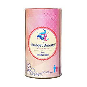 Budget Beauty Effective Hair Removal Powder Natural Depilation - 120Gm