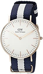 Daniel Wellington Women's Quartz Watch Classic Glasgow Lady 0503dw With Plastic Strap
