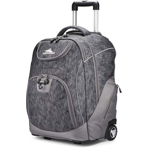 High Sierra Unisex Powerglide Wheeled Backpack - High Sierra Wheeled Backpack