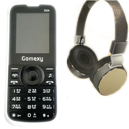 Gamexy D04 + Ubon HP-1605 Headphone Combo Offer