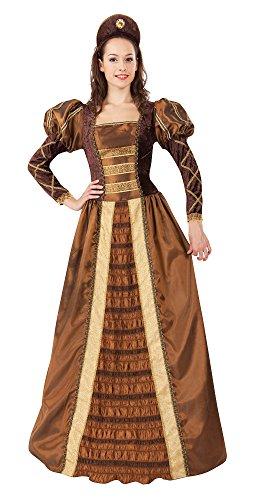 Bristol Novelty AC647 Goldene Königin (Maid Marion Kostüme Kinder)