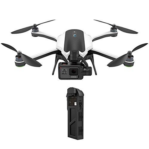 GoPro Drone Karma Noir/Blanc (caméra GoPro HERO5 Black incluse) + Batterie GoPro...
