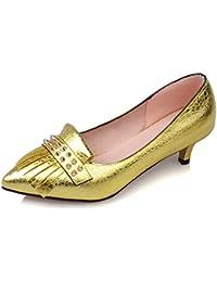 Schuhzoo - Zapatillas para mujer , color amarillo, talla 36 EU
