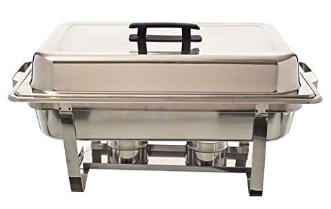 Update International (SCC-16P) 8 Qt Stainless Steel Rectangular Stackable Chafer by Update International