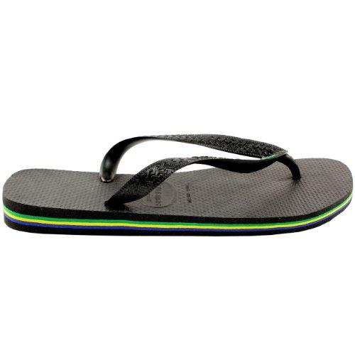 Damen Sandalen Havaianas Brasil Flip Flop Sandals Schwarz