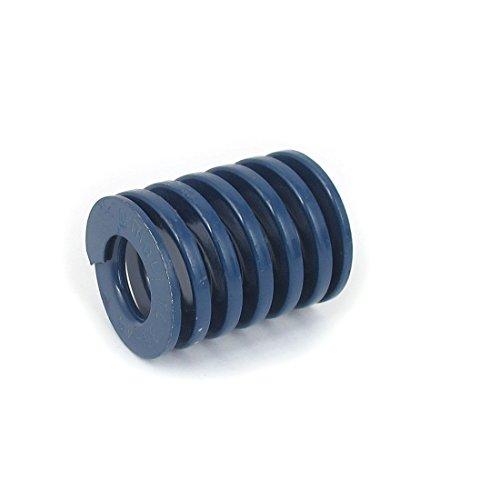Preisvergleich Produktbild sourcingmap® 35mm AD 45mm Lange leichte Last Spirale Stempel Kompression Druckfeder Blau