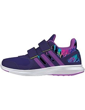 Adidas Hyperfast 2.0 CF K, Zapatillas de Deporte para Niños, Morado (Puruni/Pursho/Limsho), 35 EU