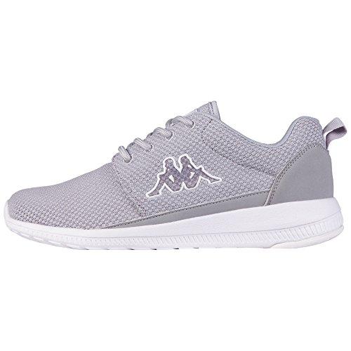 Kappa Speed II Unisex-Erwachsene Sneakers, Grau (1410 l'grey/White), 42 EU (2 Erwachsene Sportschuhe)