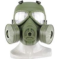 UKCOCO Taktische Gasmaske Airsoft Schutzmaske Volles Gesicht Augenschutz Schädel Dummy Toxische Gasmaske für BB... preisvergleich bei billige-tabletten.eu
