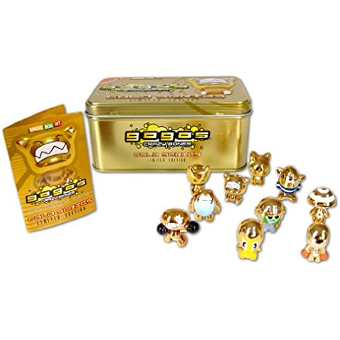 Gogo's Crazy Bones Collector Gold Tin by Crazy Bones