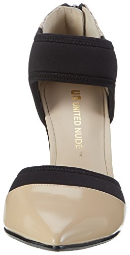 United Nude Damen Zink Dorsy Hi Pumps Mehrfarbig (Nude Mix)