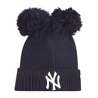 Kleidung & Accessoires New Era Mädchen Wintermütze Double Bobble Beanie La Dodgers Damen-accessoires