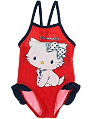 Maillot de bain 1 pièce bébé fille Charmmy kitty Rouge/marine 6mois