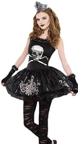 Halloweenia - Mädchen Kostüm Zomberina Zombie, 11-12 Jahre, XS, Mehrfarbig (Kostüm 2 Resident Evil)