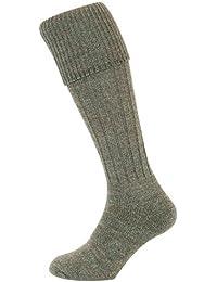 Hoggs País calcetín de punto acanalado, tamaño 6–8
