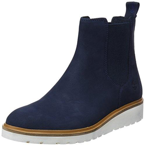 Timberland Damen Ellis Street Chukka Boots, Blau (Dark Total Eclipse Nubuck L42), 36 EU