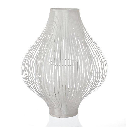 Paris Prix - Lampe à Poser Pliante 45cm Blanc