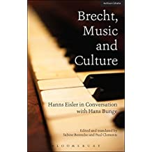 Brecht, Music and Culture