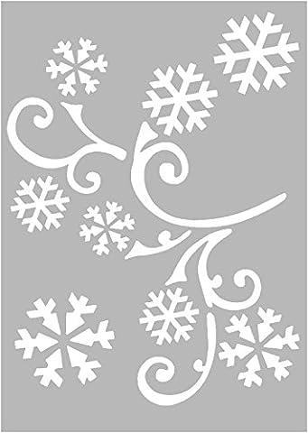 VBS 3 Zeichen-Schablonen Mal-Schablone DIN A6 Weihnachten Stencils Basteln