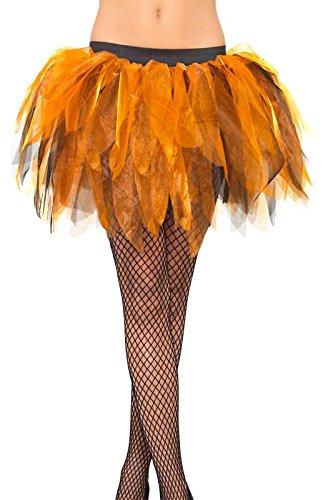Pumpkin Princess Tutu Fancy Dress Costume Donna