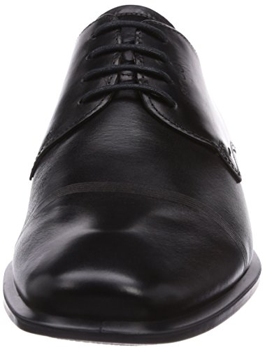 Ecco Cairo, Chaussures de Ville Homme Noir (1001Black)