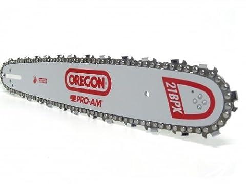 OREGON Schwert 35 cm + 4 Sägeketten für STIHL 018 021 023 025 MS 180 210 230 250