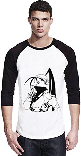 Ibuki Graphic Illustration Unisexe Baseball Shirt Small