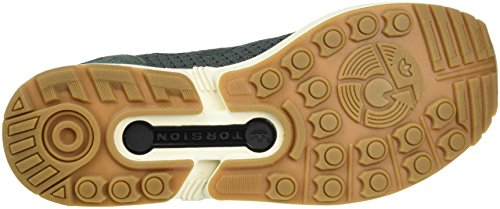 adidas Zx Flux Primeknit, Scarpe da Ginnastica Basse Unisex – Adulto Grigio (Utility Ivy/utility Ivy/gum)