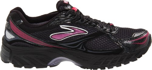 Brooks Ghost Gtx W Anthracite, Chaussures de running femme Noir-TR-B3-170