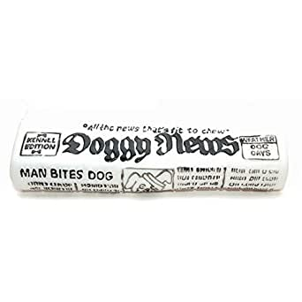 Classic Pet Products Vinyl Newspaper Ball Toy