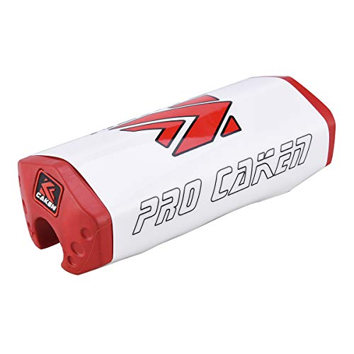 Pro Caken - Almohadilla para manillar de 28 mm, para motocross CRF RMZYZF, color rojo