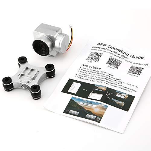 guoxuEE Caméra de caméra FPV en Temps réel pour SH5H 720p pour avions SH5H RC Drone Quadcopter jouets Argent
