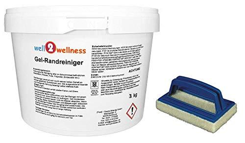 Schwimmbadreiniger Poolreiniger - Gel-Randreiniger 3,0 kg plus Reinigungspad