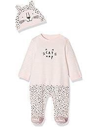 Mothercare Baby-M/ädchen Formender Body Velour Graphic Pramsuit