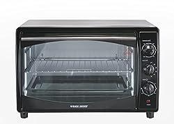 Black & Decker TRO60-B5 1800-Watt Toaster Oven (Black)