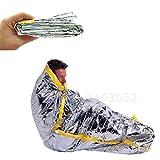 Faliya Survival Schlafsack Bivvy Bag Wärme reflektierende Wasserdichte Shelter Tube Zelt für Outdoor