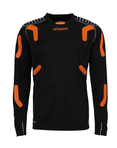 uhlsport Torwarttech Shirt LA schwarz/shock orange
