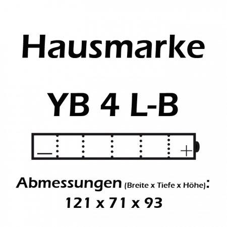 Batteria Nitro YB4L-B