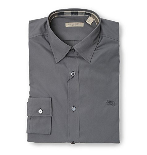 Burberry camicia uomo 399116103080 cotone grigio