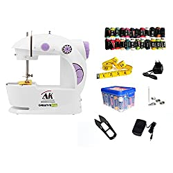 CreativeVia AK 28in1 Pack Portable And Compact With Foot Pedal Mini Electric Sewing Machine
