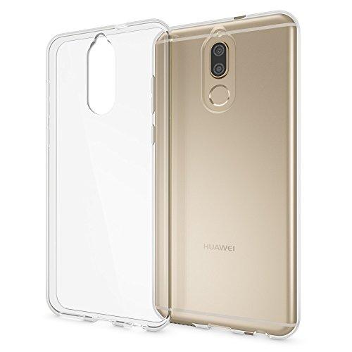 Huawei Mate 10 Lite Hülle Handyhülle von NALIA, Soft Slim TPU Silikon Case Cover Crystal Clear Schutzhülle Dünn Durchsichtig, Back Etui Handy-Tasche Transparent, Phone Schutz Bumper für Mate-10 Lite