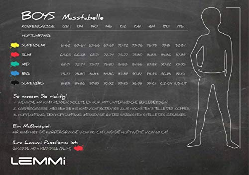 Lemmi Jungen Hose Jeans Boys Tight fit SUPER Slim Jeans, per Pack Schwarz (Black Denim Black 0010), 170 (Herstellergröße: 170)