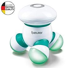 Beurer 64616 MG 16 Apparecchio Mini per Massaggi, Verde