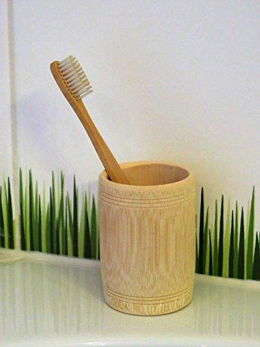 SIDCO ® 1 x Umweltfreundliche Bambuszahnbürste ökologische Zahnbürste aus Bambus - 3
