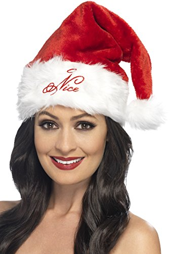 Preisvergleich Produktbild Smiffy's 21131 - Damen Weihnachtsmütze, One Size
