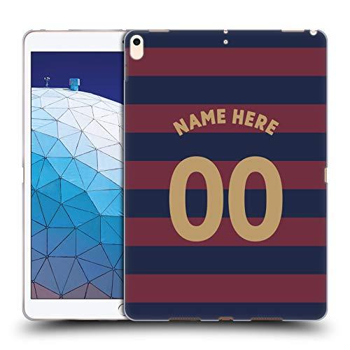 Head Case Designs Personalisierte Individuelle Newcastle United FC NUFC Away Kit 2018/19 Crest Soft Gel Huelle kompatibel mit iPad Air (2019) -