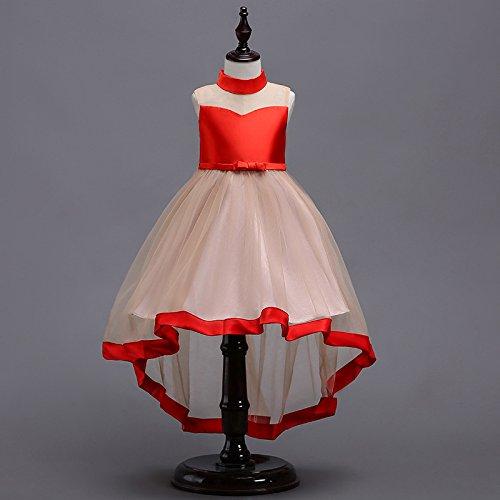 der Kinder Brautkleider Prinzessin Röcke Party Kostüme,Wie zeigen,5 Yards/100 (Stich Mädchen Kostüm)