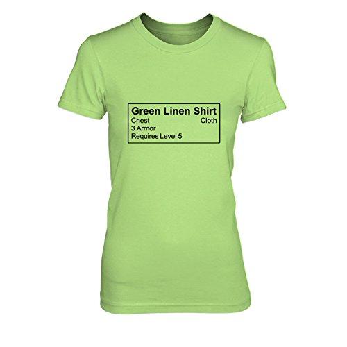 Shirt Item - Damen T-Shirt, Größe: XL, Farbe: (King Kostüm Rüstung Lich)