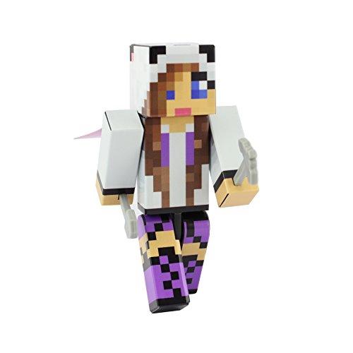 EnderToys Panda Girl (Purple) Action Figure Toy, 10cm Custom Series Figurines, …